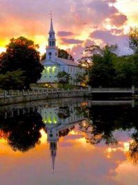 Milford Pond Reflection