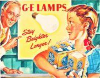 Themes Vintage ads - G-E Lamps 1946
