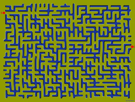 Moving Maze