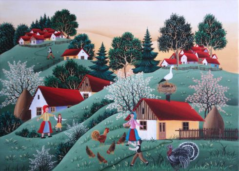 romanian naive art