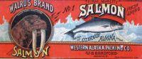 Walrus Brand Salmon {Vintage Ads}