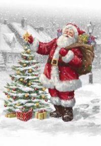 Christmas - Vintage Santa