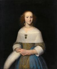 Isaack Luttichuys Portrait of possibly Susanna Reael 1656