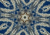 Frosty kaleidoscope
