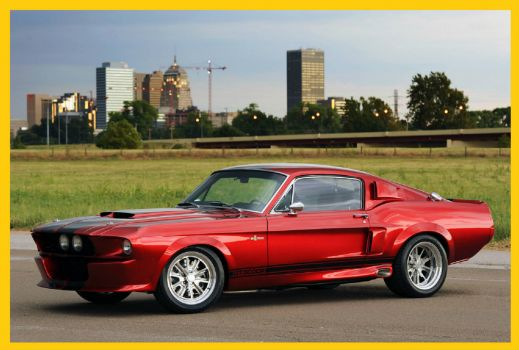 Candy Apple Red GT500