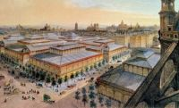 LES HALLES IN THE 1800s