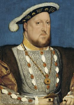 Hans Holbein the Younger - Portrait of Henry VIII of England (1537)