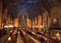 Hogwarts Great Hall Christmas