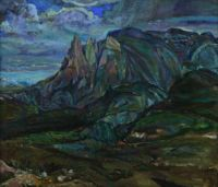 Thunderstorm on the Mountains by Frederick Varley