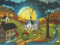 October Moon by Mary Charles