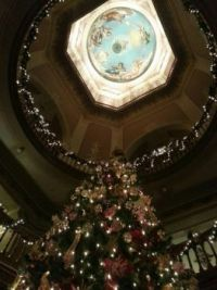Under the Golden Dome at Christmas