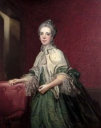 Mary Anne Colmore  Francis Cotes, 1764