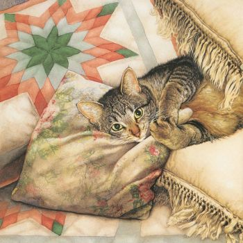 Cats and Quilts #1