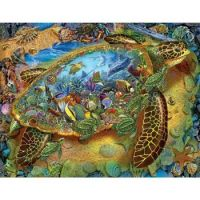 FANTASY SEA TURTLE POSTER