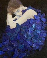"""'Lady in Blue"""""""