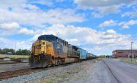 Empty Oil Train in Syracuse, NY