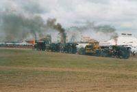 Dorset steam fair when its a dry day