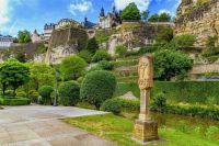 Ansicht auf Alt-Luxemburg