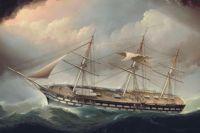 James Edward Buttersworth (British, 1817–1894), United States Ship of the Line Ohio (ca 1852)