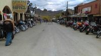 Oatman Arizona during the Laughlin river run.