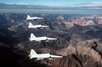Jets over the Grand Canyon