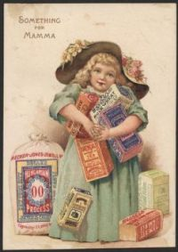 Themes Vintage ads - Heckers - Something for Mamma