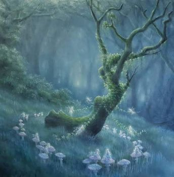 a fairy ring  Lynne Bellchamber