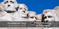 Today Is Presidents Day!!