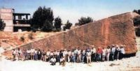 Baalbek: A 1200 ton megalith carved from bedrock