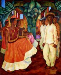 Baile en Tehuantepec, 1928