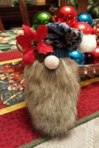 Gnome made from socks
