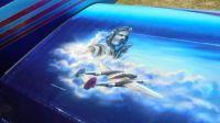 Arlington Airshow Artwork on Airplane Wing