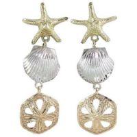 Sea-Shell-Star-Fish-Dangle-Drop-Charms