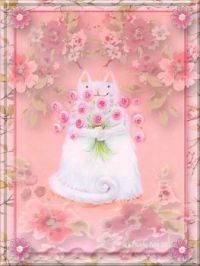 HAPPY EASTER  . . . . MEOW    ≧◠‿●‿◠≦
