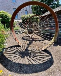 Wheel and it's shadow