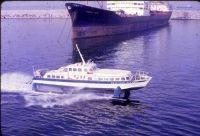 hydrofoil Naples Harbor