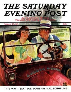 Saturday Evening Post cover 1936