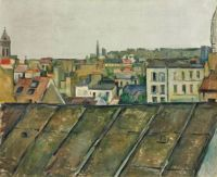 The Roofs of Paris by Paul Cézanne