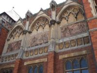 Royal Shakespear Company theatre frontage, Stratford