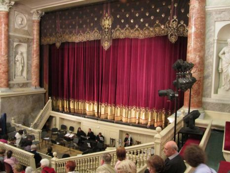 Catherine the Great's Private Theater, Hermitage, Saint Petersburg, Russia