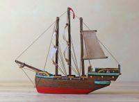 vintage toy ship