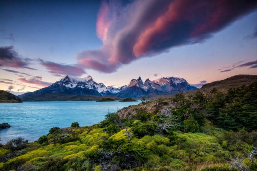 Patagonia Torres Del Paine National Park in Chile