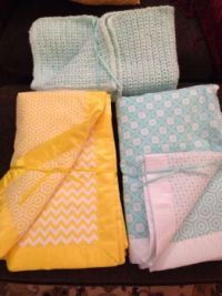 Homemade Baby Blankets!
