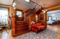 Inside an expensive old house