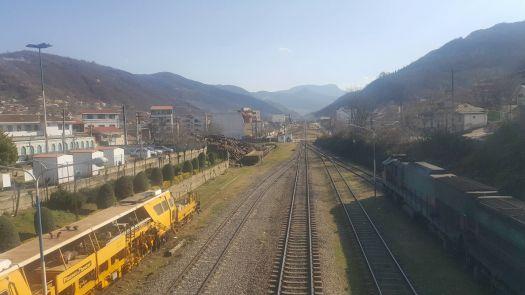 Zirab train station Mazndaran