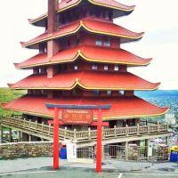 Pagoda at Reading PA, on Mount Penn, Jay Applegate