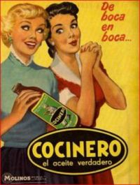 Themes Vintage ads - Cocinero - Argentine Food Poster