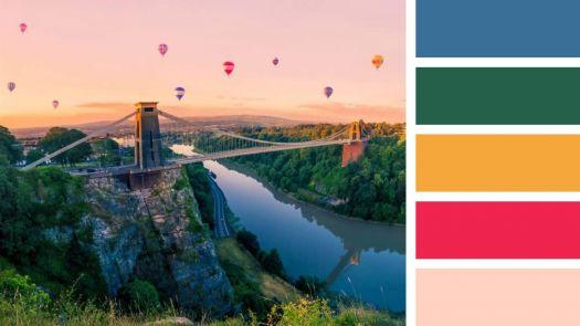 Balloons above Bristol
