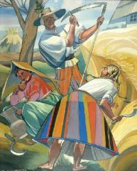 Zofia STRYJEŃSKA (1894 - 1967)  Outdoor Chours