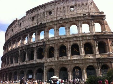 my trip to italy
